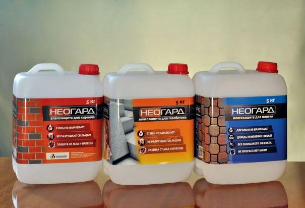 гидрофобная пропитка для газобетона